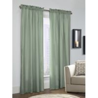 Prescott 72-Inch Rod Pocket Window Curtain Panel Pair in Sage