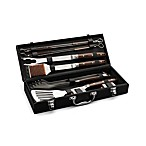 Cuisinart® 10-Piece Grilling Set With Leather Storage Case