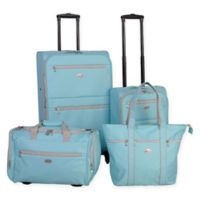 American Flyer Perfect 4-Piece Luggage Set in Mint
