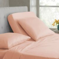 Martex 400-Thread-Count Split King Sheet Set in Blush