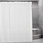 Metro Farmhouse Ventura Shower Curtain in White