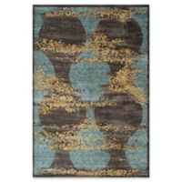 Momeni Vogue 1'8 x 2'7 Accent Rug in Blue