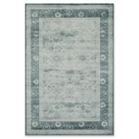 Momeni Vogue Vintage-Inspired 1'8 x 2'7 Accent Rug in Blue