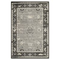 Momeni Vogue Vintage-Inspired 5' x 7'6 Area Rug in Charcoal