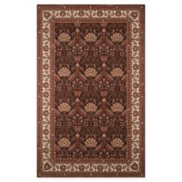 Momeni Persian Garden Ogee 2' x 3' Accent Rug in Coco