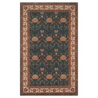 Momeni Persian Garden Ogee 2' x 3' Accent Rug in Teal