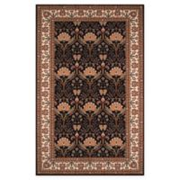 Momeni Persian Garden 9'6 x 13' Area Rug in Charcoal