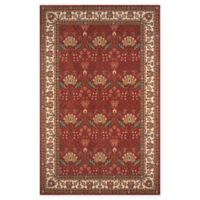 Momeni Persian Garden 9'6 x 13' Area Rug in Salmon