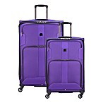 DELSEY PARIS Sky Max 2-Piece Nested Luggage Set in Purple