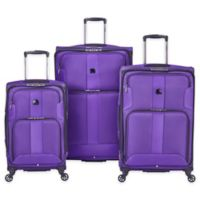 DELSEY PARIS Sky Max 3-Piece Spinner Nested Luggage Set in Purple