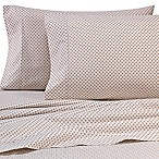 Heartland® HomeGrown™ 325 TC Cotton Percale King Fitted Sheet in Geometric