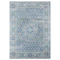 Momeni Petra 4' x 6' Area Rug in Blue