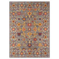Momeni Distressed Petra 5' x 8' Area Rug in Grey