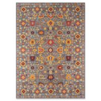 Momeni Distressed Petra 9' x 12' Area Rug in Grey