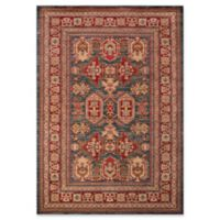 Momeni Ghazni Abstract 2' x 3' Accent Rug in Blue