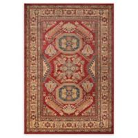 Momeni Ghazni Damask 2' x 3' Accent Rug in Red