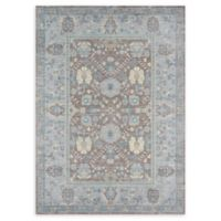 Momeni Petra Loomed 4' x 6' Accent Rug in Dark Grey