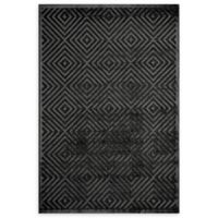 Momeni Platinum Loomed 2' x 3' Accent Rug in Charcoal