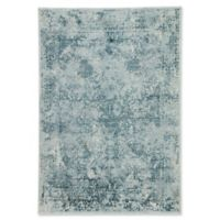 Jaipur Yvie Abstract 2' x 3' Accent Rug in Blue/Teal