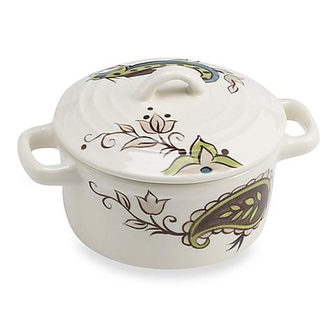 Tabletops Unlimited® Misto Angela Mini Round Covered Casserole Dish