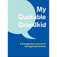 """Chronicle Books """"My Quotable Grandkid Journal"""" in Blue"""