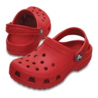 Crocs™ Size 5 Kids' Classic Clog in Red