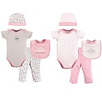 Hudson Baby® 8-Piece Princess Layette Set in Pink
