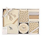 Hudson Baby 9-Piece Safari Bath Gift Set in Beige