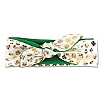 Tiny Treasures St. Patty's Headband in Green/Gold