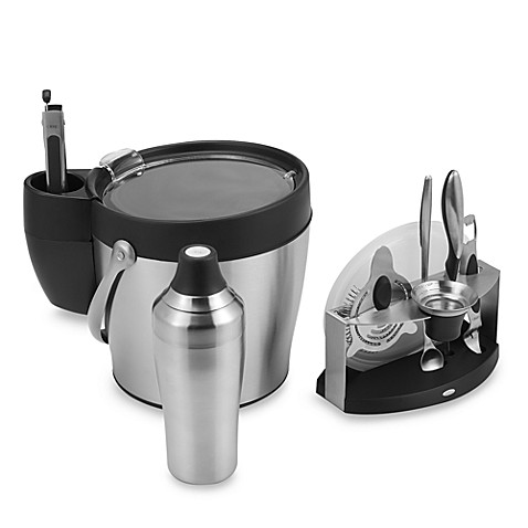 OXO SteeL® 11 Piece Barware Collection
