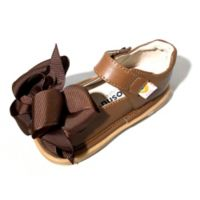 Mooshu Trainers Size 5 Ready Set Bow Mary Jane Shoe in Chocolate