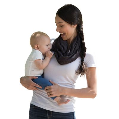 Boppy™ Teething Scarf in Heather Grey