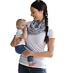 Boppy™ Circles & Sqaures Teething Scarf in Black/White