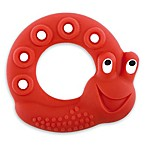 MAM Friends Snail Natural Rubber Teether in Red