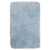 """Casey by Nicole Miller 2'2"""" x 3'8"""" Shag Accent Rug in Blue"""