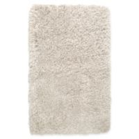 """Casey by Nicole Miller 2'2"""" x 3'8"""" Shag Accent Rug in Ivory"""