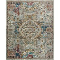 """Parlin by Nicole Miller Kaleidoscope 2'7"""" x 3'11"""" Accent Rug in Ivory/Multi"""