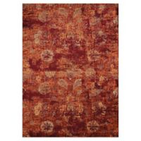 United Weavers Bridges Via Vicosa 5' x 8' Area Rug in Crimson
