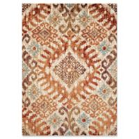 United Weaver Bridges Verazanno 9' x 12' Area Rug in Crimson