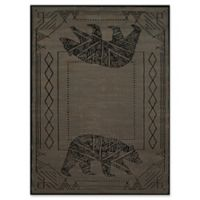 United Weavers Affinity Bear Cave 2' x 4' Accent Rug in Blue/Grey