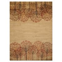 United Weavers Affinity Tree Blossom 7'10 x 10'6 Area Rug in Natural