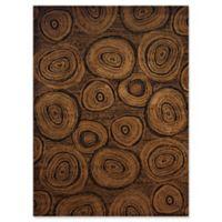 United Weavers Affinity Timber 7'10 x 10'6 Area Rug in Dark Brown