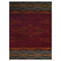 United Weavers Affinity Native Skye 2' x 8' Accent Rug in Red