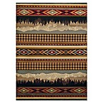 United Weavers Affinity Spring Mountain 5'3 x 7'2 Multicolor Area Rug