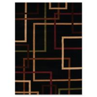 United Weavers Contours City Walk Tufted 2'x 8' Accent Rug in Onyx