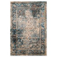 United Weavers Jules Camelot Tufted 2' x 8' Accent Rug in Cerulean