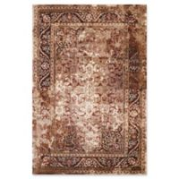 United Weavers Jules Camelot Tufted 2' x 8' Accent Rug in Brown
