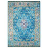 United Weavers Rhapsody Bromley Tufted 2' x 8' Accent Rug in Cerulean