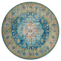 United Weavers Rhapsody Bromley Tufted 8'x 8' Area Rug in Cerulean