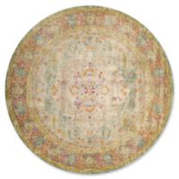 United Weavers Rhapsody Bromley Tufted 8' x 8' Round Area Rug in Natural